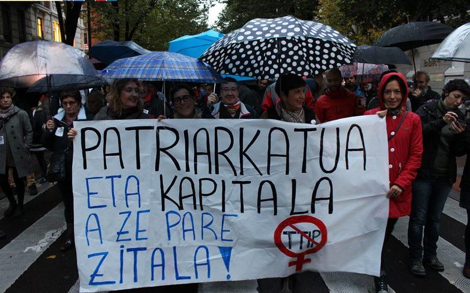 Miles de personas salen a la calle contra TTIP y CETA