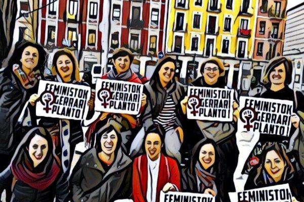 Feministok gerrari Planto!