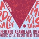 Asamblea nacional abierta para la organización de las Jornadas Feministas de Euskal Herria