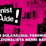 Charla debate: Hacia un nuevo internacionalismo feminista