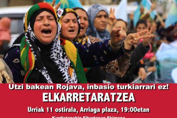En solidaridad con los pueblos del noreste de Siria y la Revolución Feminista en Rojava