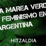 """Charla: """"La marea verde y feminismo en Argentina"""" con Celeste Macdougall"""