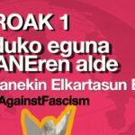 Concentración: Día mundial por Kobane