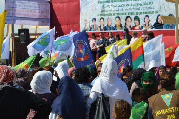 Call for strengthening of solidarity among women against occupation and genocide!